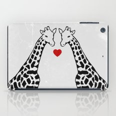 Giraffe Love iPad Case