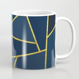 The Color of Navy And Gold Coffee Mug