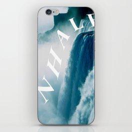 inhale iPhone Skin