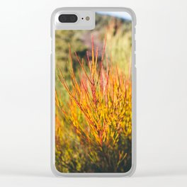 Breathing nature (V) Clear iPhone Case
