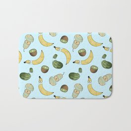 Fruit Pattern Bath Mat