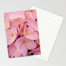 Hydrangea Macro Peach Pink Stationery Cards