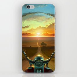 Land of the Winds iPhone Skin