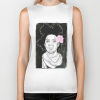 basquiat Biker Tanks featuring Basquiat by DonCarlos