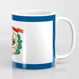 flag west virginia,america,us,south,Mountain, Virginian,Charleston,Huntington,Morgantown,Parkersburg Coffee Mug