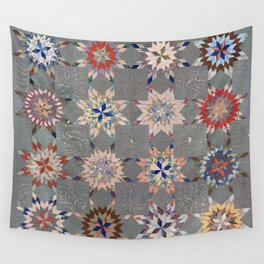 Floral Fabric Vintage Gift Pattern #21 Wall Tapestry