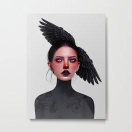 Jane Doe Metal Print
