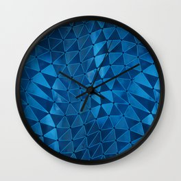 Deformation of Time and Space Wall Clock