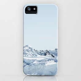 wall of ice iPhone Case
