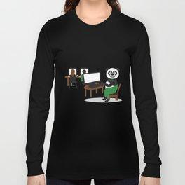 Panda Teacher Long Sleeve T-shirt
