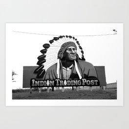 Route 66 - Oklahoma Trading Post 2008 Art Print