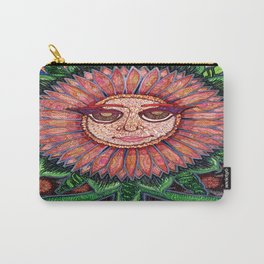 Demure Sunflower Carry-All Pouch