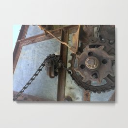 Industry 3 Metal Print