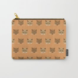 Kellie's Kitties. Kitty Wallpaper Pattern for the Crazy Cat Lady in your Life! Carry-All Pouch