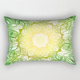 Dozing Under the Corn Rectangular Pillow