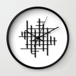 Crossy Cross Wall Clock