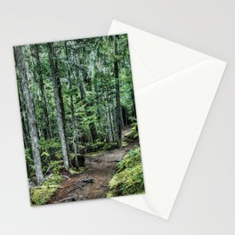 Nature Landscape Forest Trail Stationery Cards