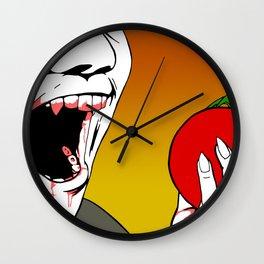Vampires Are Vegans Too Wall Clock