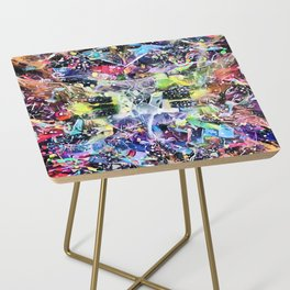 Crow's Paintbrush Side Table