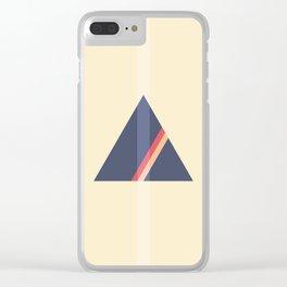 Geometriangle vol. 2 Clear iPhone Case