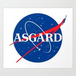 Asgard Insignia Art Print