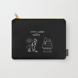 calvin hobbes and snoopy Carry-All Pouch