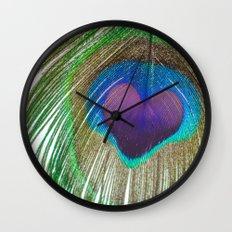 Peacock Love Wall Clock