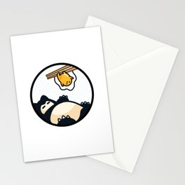 Snorlax Gudetama Lazy Duo (San-x) Stationery Cards