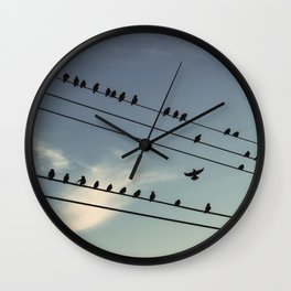 Change of Perch Wall Clock