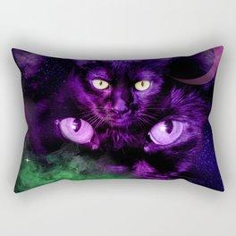 Magical Black Cats Rectangular Pillow