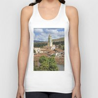 cuba Tank Tops featuring Trinidad, Cuba by Parrish