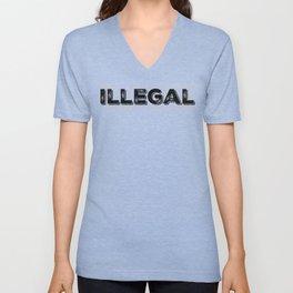 Illegal Unisex V-Neck
