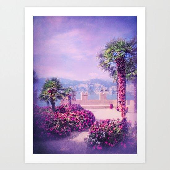 MEDITERRANEAN SUMMER PARADISE Art Print