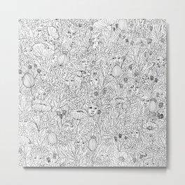 Nymphs Metal Print