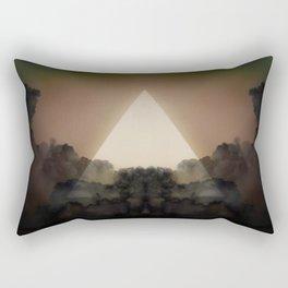 Abstract Environment 02: The Rorschach Test Rectangular Pillow