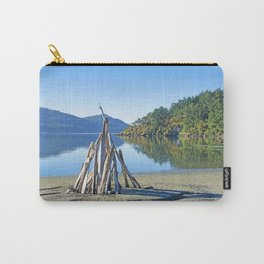 LATE SUMMER ON CRESCENT BEACH ORCAS ISLAND Carry-All Pouch