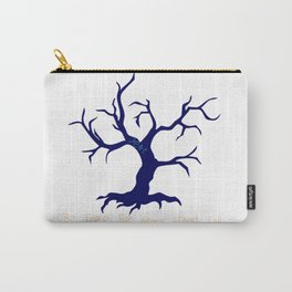 Tree of Life Dark Blue Carry-All Pouch