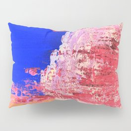 Into the Mist Pantone Color of the Year 2016 Abstract Pillow Sham