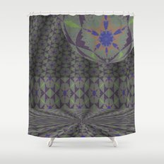 Soothing New Perspective Orbital Void 1 Shower Curtain
