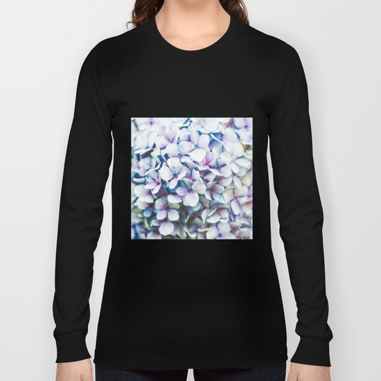 in the blue Long Sleeve T-shirt