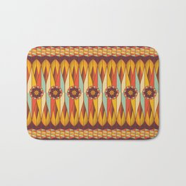 Colorful ethnic pattern Bath Mat