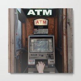 ATM Metal Print