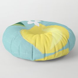 Meyer Lemon Floor Pillow