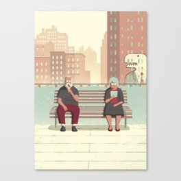 Day Trippers #5 - Rest Canvas Print