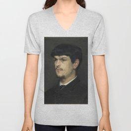 Claude Debussy (1862 – 1918) by Marcel Baschet, 1884 Unisex V-Neck