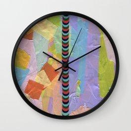 Pile Wall Clock