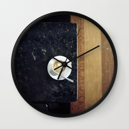 Latte Art Wall Clock