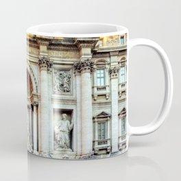 Trevi Fountain and Pool - Rome, Italy Coffee Mug