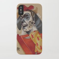 FIRE MARSHALL iPhone X Slim Case