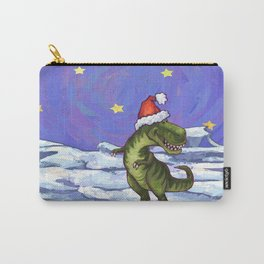 Tyrannosaurus Christmas Carry-All Pouch